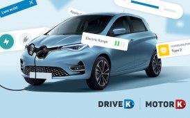 Nuova sezione su DriveK, permette di configurare auto elettriche/ibride