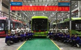 BYD tocca i 50.000 bus elettrici prodotti