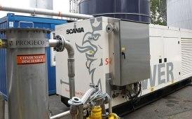 Scania sperimenta il biogas grezzo