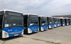Flotta Iveco Bus ai nastri di partenza