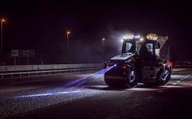 Sicurezza aumentata in cantiere: ora il perimetro del rullo è illuminato dai led