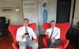 Intreccio di competenze Axodel-Viasat