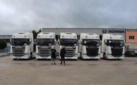 Quindici serie R Scania per Sepe a Napoli