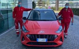 Hyundai al fianco di Croce Rossa per fronteggiare l'emergenza Coronavirus