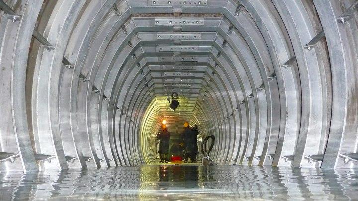 Ripristino funzionale galleria Pavoncelli con inserimento di centine in acciaio