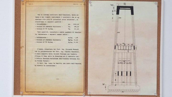 Relazione tecnica sul Polcevera di Riccardo Morandi