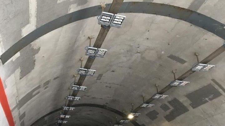 Calabria: lavori progetto greenlight illuminazione gallerie SS106 var-A