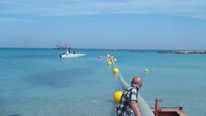 Condotta sottomarina a Otranto