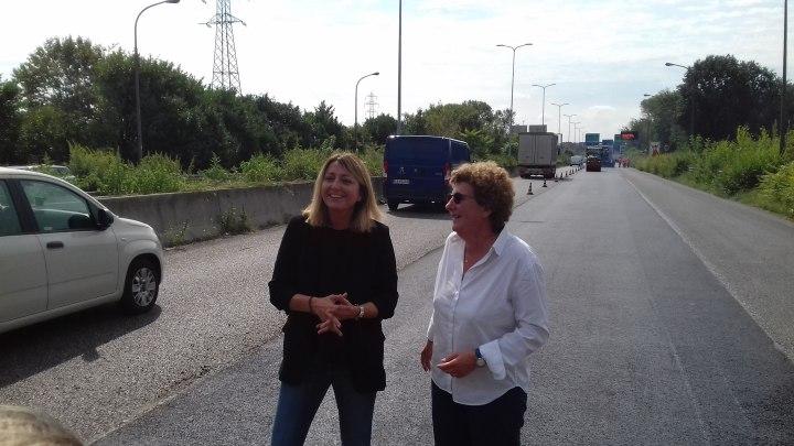 Federica Giannattasio (Iterchimica) con Arianna Censi (Città Metropolitana Milano)