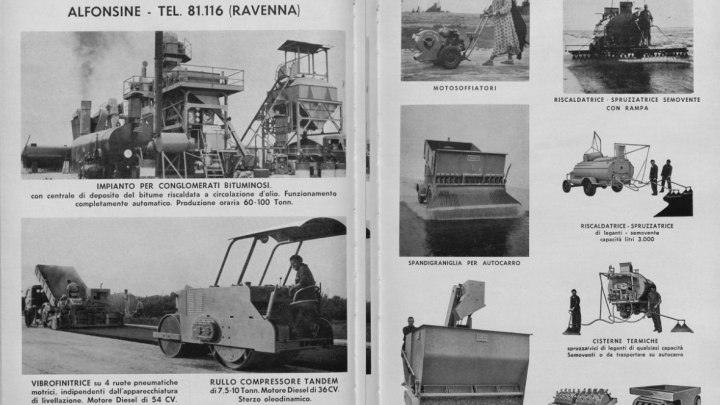 Adv in leStrade magazine (Italy)