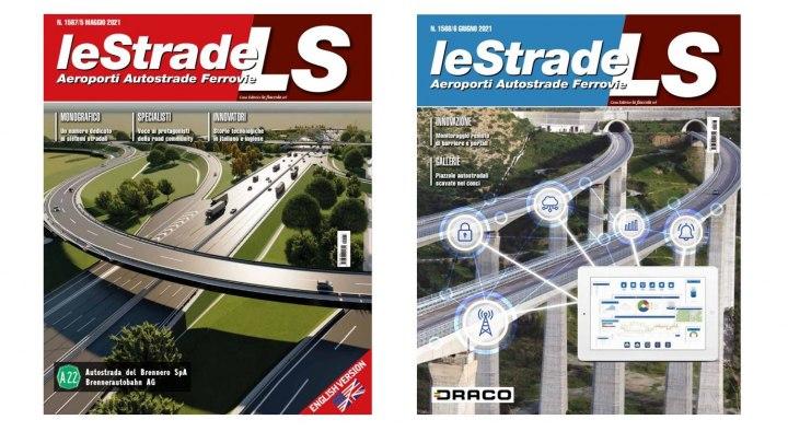 Cover Maggio (Autobrennero) e cover Giugno (sistema Draco)