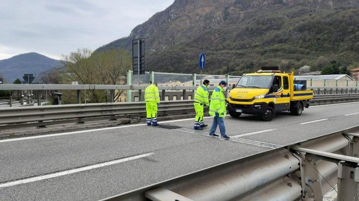 Lombardia: interventi sulla statale 36 per ripristino giunti