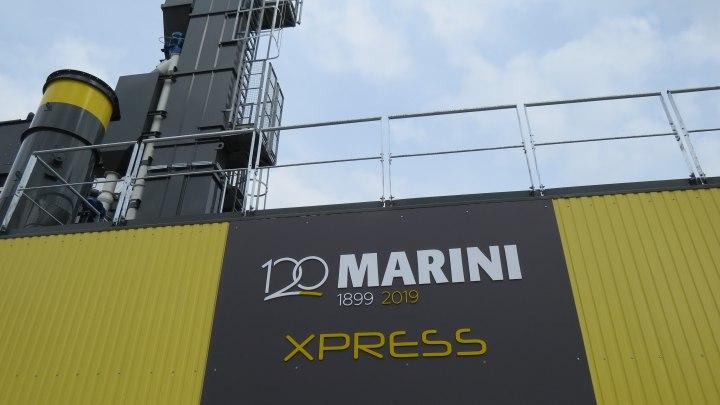 MARINI's plant at Bauma 2019