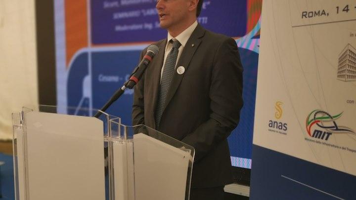 Domenico Crocco, segretario generale e primo delegato PIARC Italia