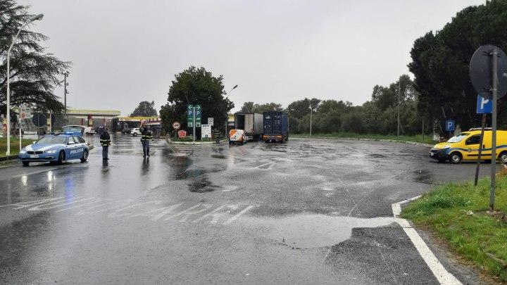 A2, presidio per controlli auto presso l'area di servizio di Rosarno Ovest