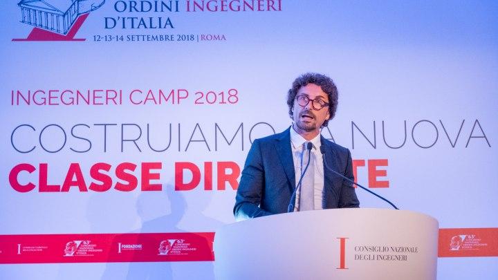 Toninelli a Ingegneri Camp 2018