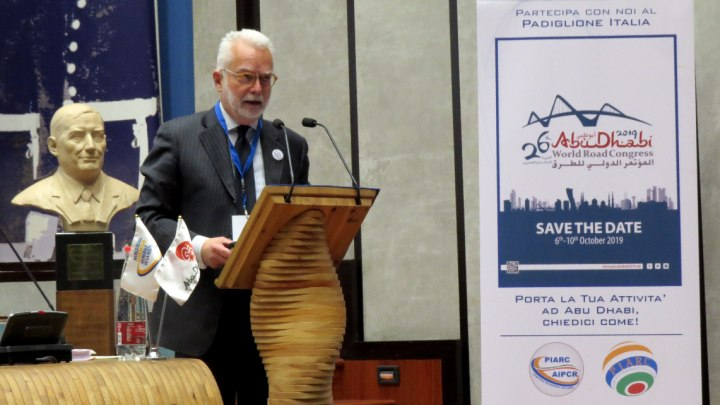 Saverio Palchetti, coordinatore dei comitati mondiali AIPCR
