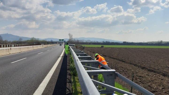 Piemonte: manutenzione barriere laterali su RA10 Torino-Caselle