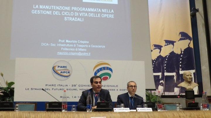 Seminario sulla manutenzione con Maurizio Crispino (Politecnico di Milano) e Mario Avagliano (Anas)