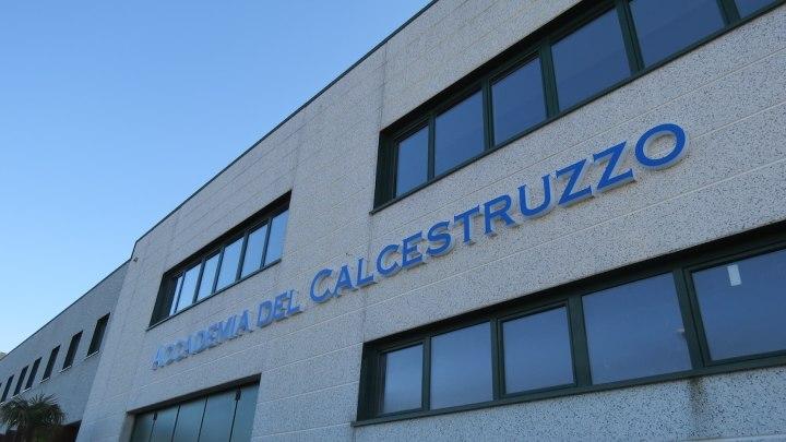 L'Accademia del Calcestruzzo, a Renate Brianza (MB)